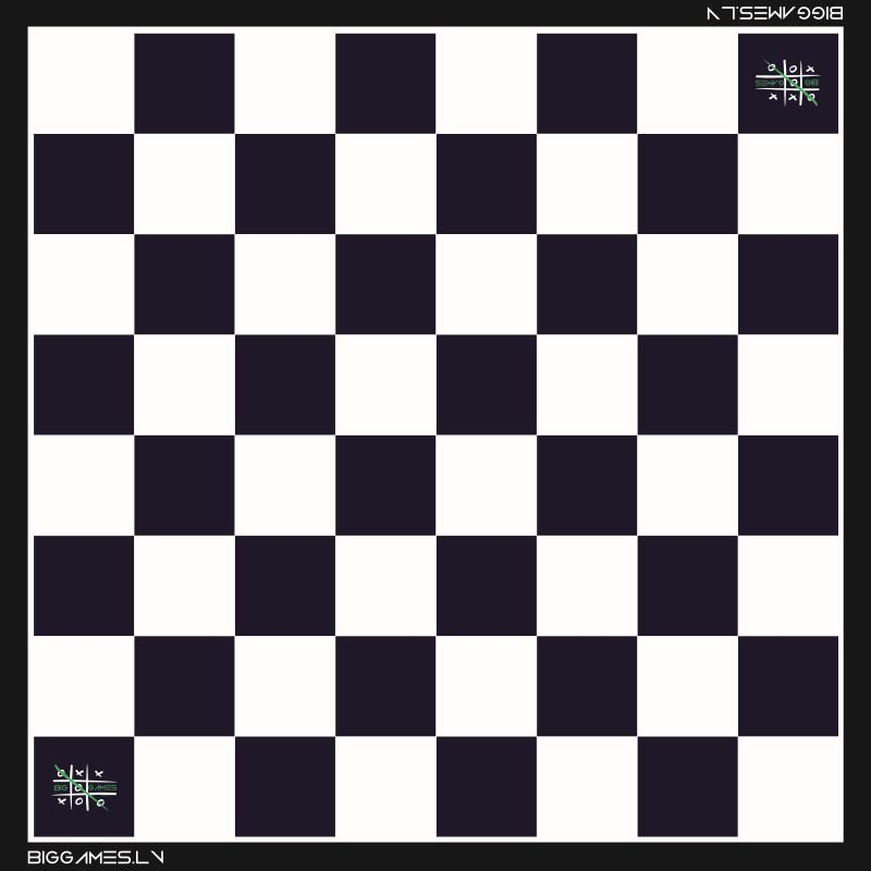 Gigant Checkers (2.5x2.5m)