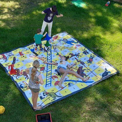 Dārza spēles. Lielais cirks. Spēļu noma. Izklaide bērniem. Ballīšu spēles.