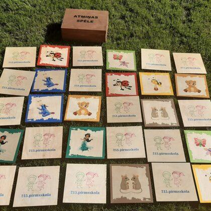 Lielā Atmiņas spēle. Izklaide bērniem. Spēles bērnudārzam.