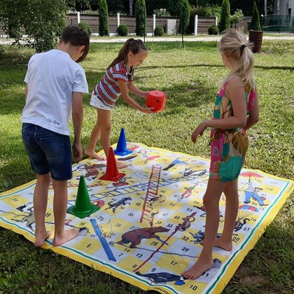Party games, garden games, big games