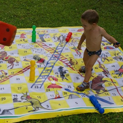 Garden game. Circus. Party game. Biggames